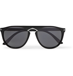 Cartier Eyewear Signature C de Cartier Round-Frame Acetate Sunglasses