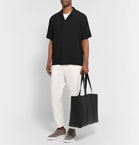 East West Leather Tote Bag by Mansur Gavriel