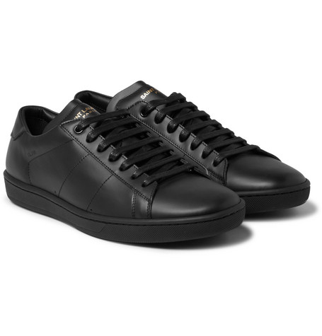 Sl/01 Court Classic Leather Sneakers Saint Laurent t58dpnYnWR
