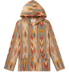 Battenwear Beach Printed Cotton Hooded Parka