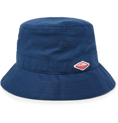 Battenwear Embroidered Linen and Cotton-Blend Bucket Hat
