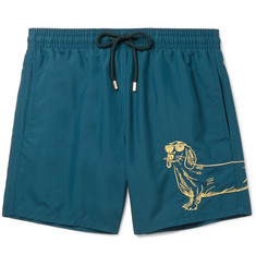 Vilebrequin Moorea Mid-Length Embroidered Swim Shorts