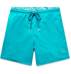 Vilebrequin Moloka Mid-Length Printed Swim Shorts