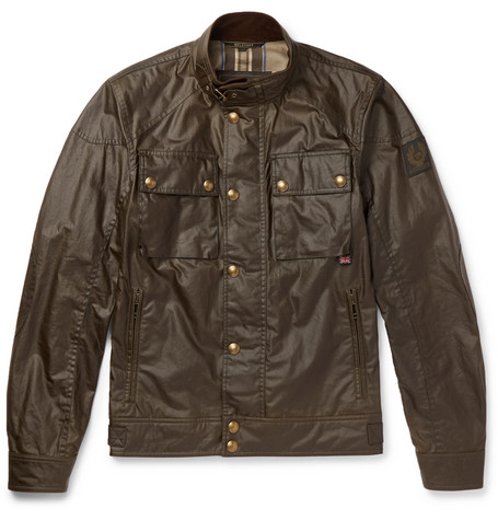Racemaster Waxed Cotton Jacket by Belstaff