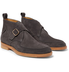 McCaffrey - Buckled Suede Boots