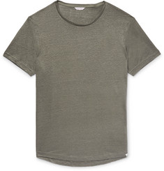 Orlebar Brown - OB-T Slim-Fit Slub Linen-Jersey T-Shirt