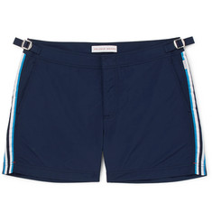 Orlebar Brown Setter Short-Length Grosgrain-Trimmed Swim Shorts