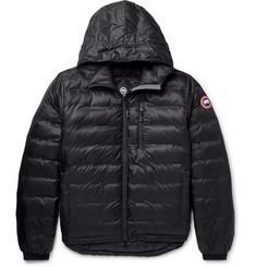Canada Goose Lodge Packable Ripstop Shell Hooded Down Jacket