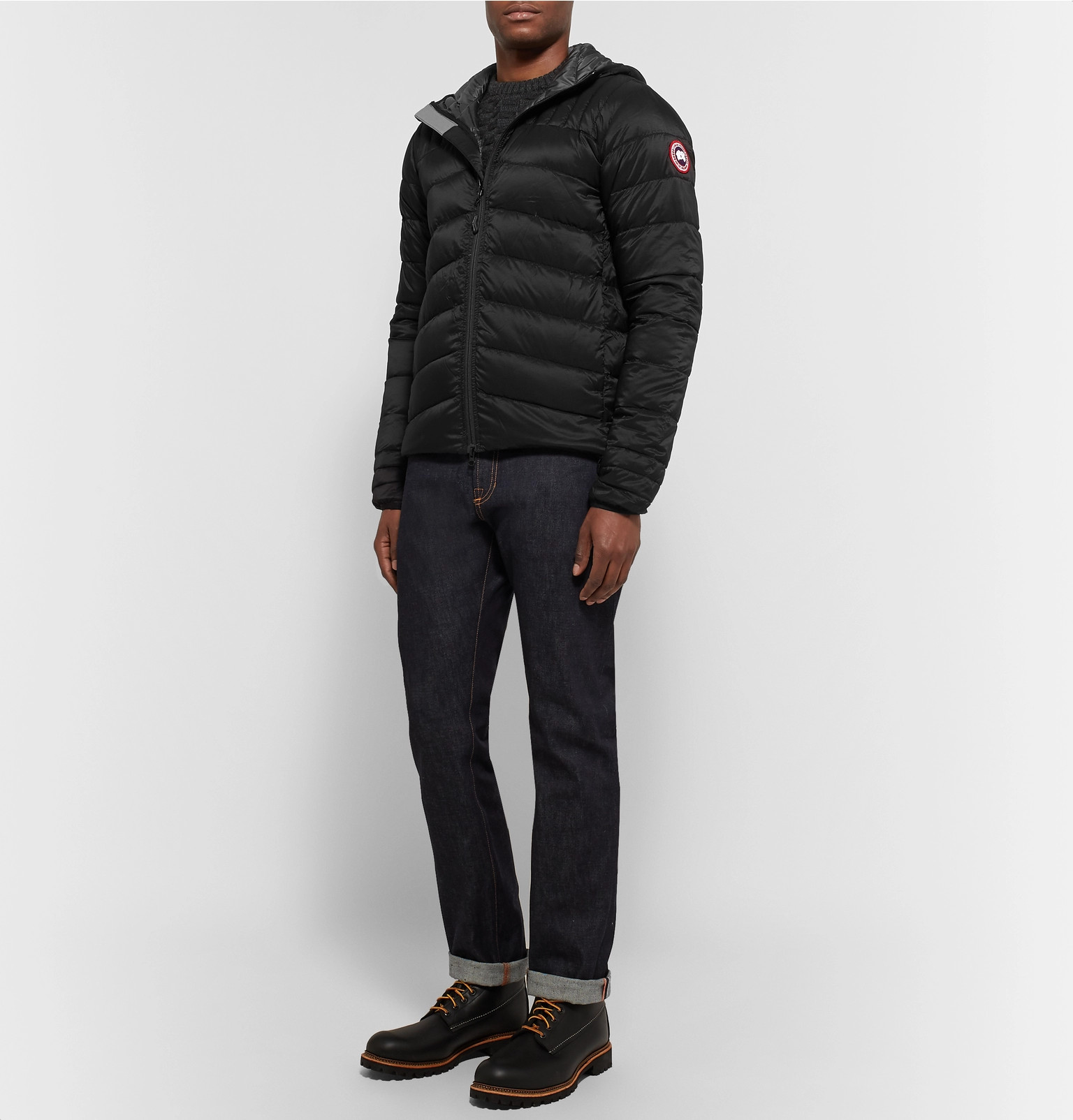 db4b3b6135c8 Canada Goose - Brookvale Slim-Fit Quilted Shell Hooded Down Jacket