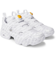 Vetements - + Reebok Logo Instapump Fury Sneakers
