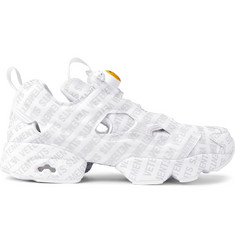 Vetements + Reebok Logo Instapump Fury Sneakers