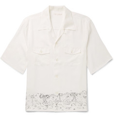 Our Legacy - P.X. Camp-Collar Printed Lyocell Shirt