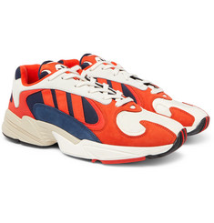 adidas Originals - Yung 1 Suede and Mesh Sneakers