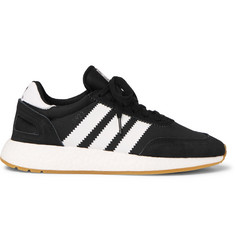 adidas Originals I-5293 Leather and Suede-Trimmed Neoprene Sneakers