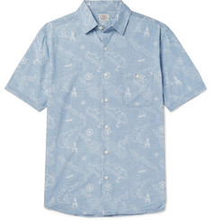 Faherty Printed Cotton Shirt
