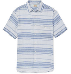 Faherty Ventura Striped Cotton Shirt