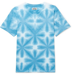 Blue Blue Japan Washed Tie-Dyed Cotton-Jersey T-Shirt