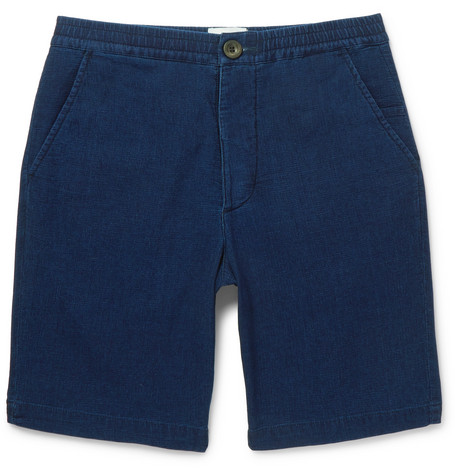 Cotton-jersey Drawstring Shorts