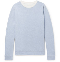 Oliver Spencer Robin Striped Loopback Cotton-Jersey Sweatshirt