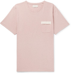 Oliver Spencer Mélange Cotton-Jersey T-Shirt