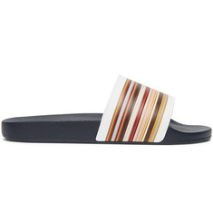 Paul Smith Ruben Striped Rubber Slides
