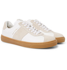 Paul Smith Levon Leather and Suede Sneakers