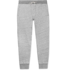 Mr P. Mélange Loopback Cotton-Jersey Sweatpants