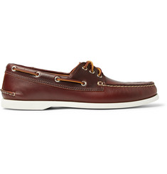 Quoddy Downeast Leather Boat Shoes