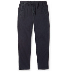 Folk Linen and Cotton-Blend Trousers