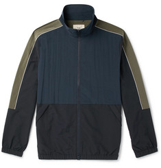 Folk Panelled Nylon Track Jacket