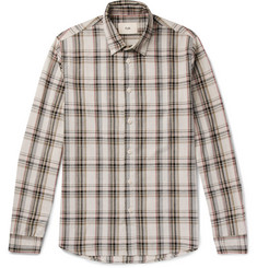 Folk - Storm Checked Cotton Shirt
