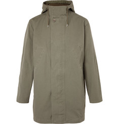 A.P.C. Cotton-Canvas Hooded Parka