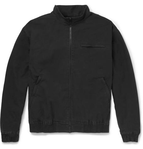p Jacket Black c Blouson A Cotton 7Hqxvn4w