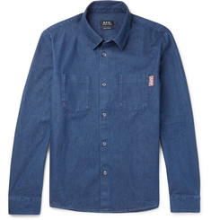 A.P.C. Riga Denim Overshirt