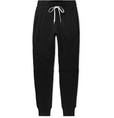 John Elliott Escobar Slim-Fit Tapered Loopback Cotton-Jersey Sweatpants