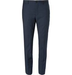 PS by Paul Smith Slim-Fit Checked Wool-Blend Suit Trousers