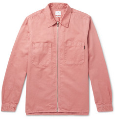 PS by Paul Smith Cotton and Linen-Blend Twill Shirt Jacket