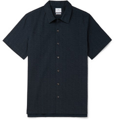 PS by Paul Smith Printed Cotton-Seersucker Shirt
