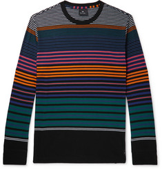 PS by Paul Smith Striped Organic Cotton-Jersey T-Shirt
