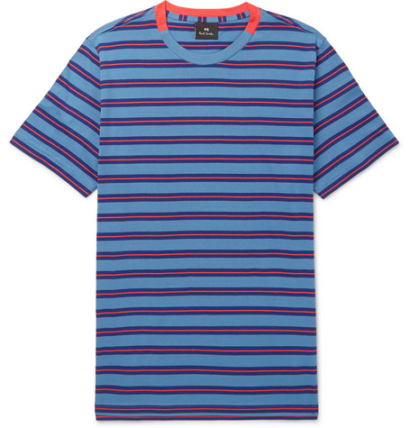 STRIPED COTTON-JERSEY T-SHIRT from MR PORTER