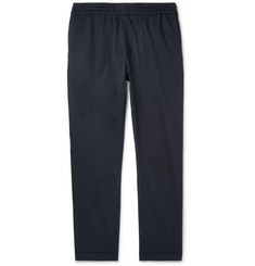 PS by Paul Smith - Tapered Stretch-Cotton Drawstring Trousers