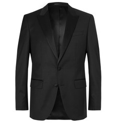 Hugo Boss Black Halwood Slim-Fit Super 120s Virgin Wool Tuxedo Jacket