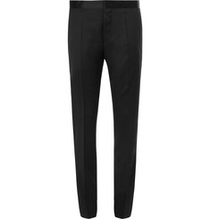 Hugo Boss - Black Gilan Slim-Fit Super 120s Virgin Wool Tuxedo Trousers