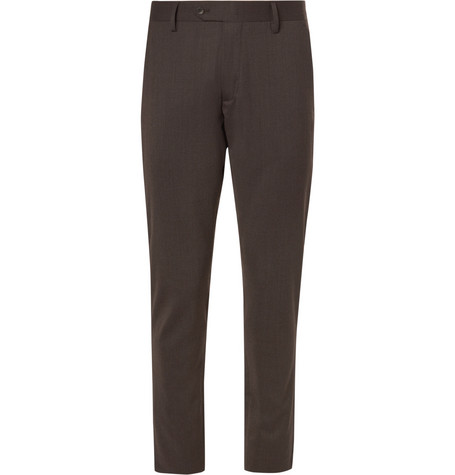 Theo Slim Fit Stretch Twill Trousers by Nn07