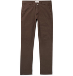 NN07 Marco Slim-Fit Stretch-Cotton Twill Chinos