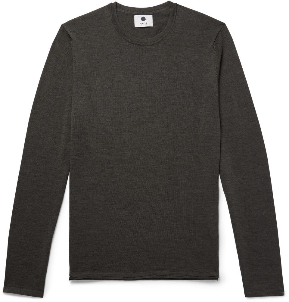 Bild på Anthony Merino Wool Sweater - Dark green