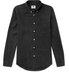 NN07 - Falk Slim-Fit Button-Down Collar Tencel Shirt