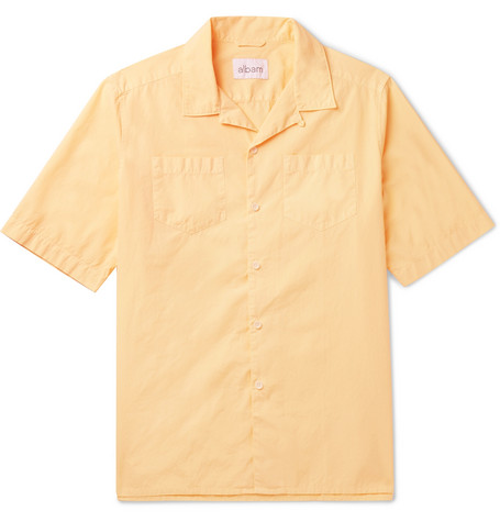 Harlow Camp-collar Cotton Shirt Albam Cheap Sale Many Kinds Of rcTq0