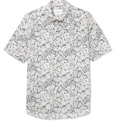 Albam Printed Cotton-Poplin Shirt
