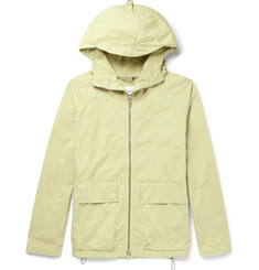Albam - Garment-Dyed Cotton-Twill Hooded Parka